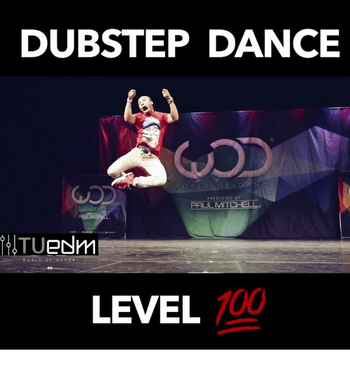 DUBSTEP DANCE PRESENTED B PAUL MITCHELL eNm TU LEVEL