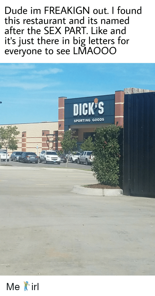 Big Dicks restaurant