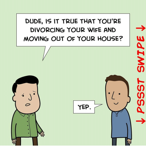 divorcing your wife