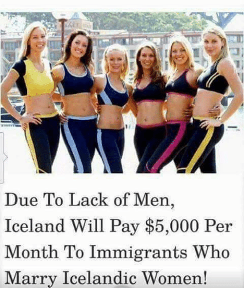 Marry an icelandic woman