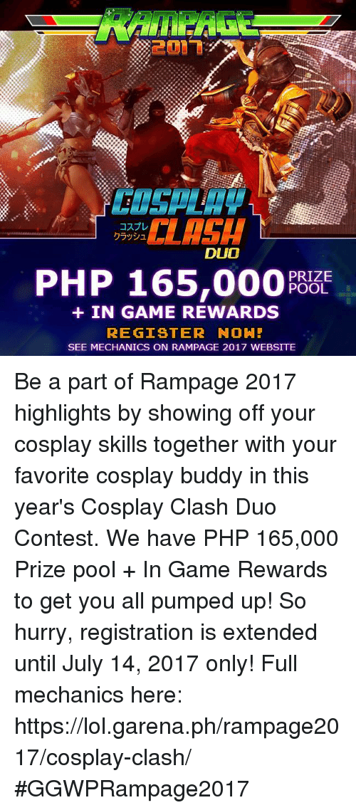 DUO PHP 165000 PRIZE POOL IN GAME REWARDS REGISTER NOH! SEE