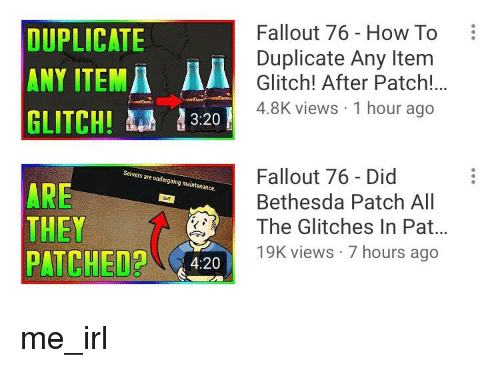 DUPLICATE ANY ITEMA a GLITCH! 320 Fallout 76 - How to