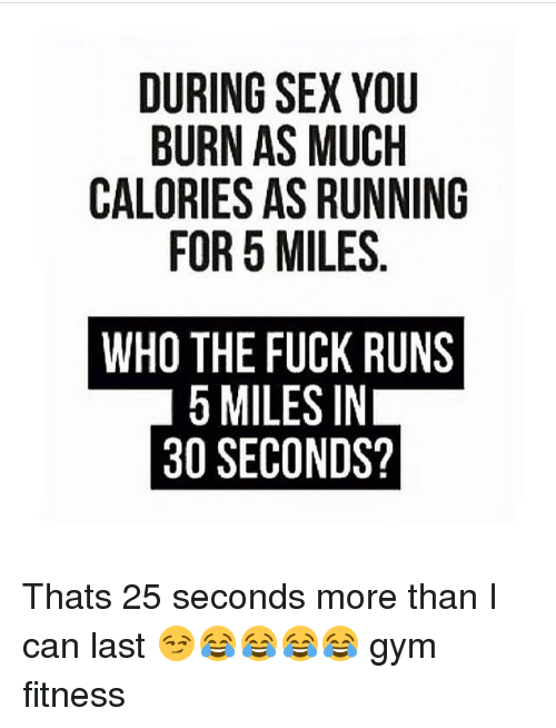 How many calories do you burn during sex