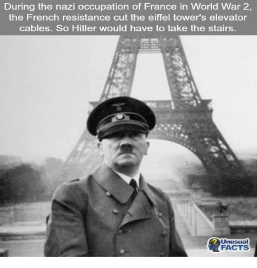 During The Nazi Occupation Of France In World War 2 The French