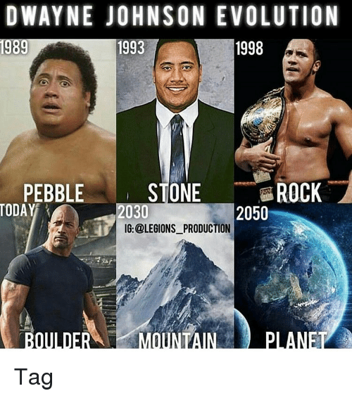 dwayne johnson evolution 1998 1989 1993 stone rock pebble today 14665374 dwayne johnson evolution 1998 1989 1993 stone rock pebble today 2050