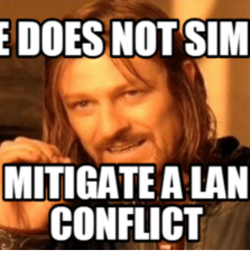 Doe, Sims, and Sim: E DOES NOT SIM  MITIGATE ALAN  CONFLICT