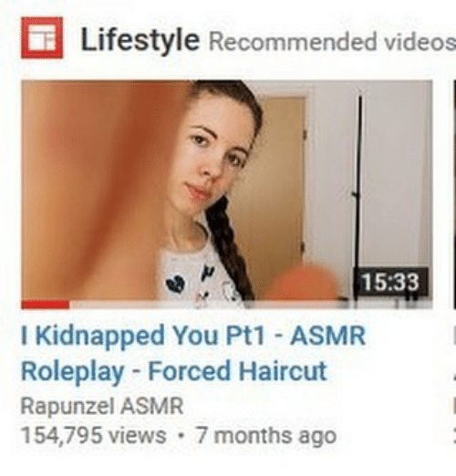 E Lifestyle Recommended Videos 1533 I Kidnapped You Pt1 Asmr
