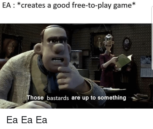 Free, Game, and Good: EA *creates a good free-to-play game*  Those bastards are up to something