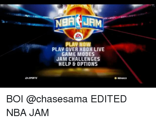 EA SPORTS PLAY NOW PLAY OVER HBOR LIVE GAME MODES JAM