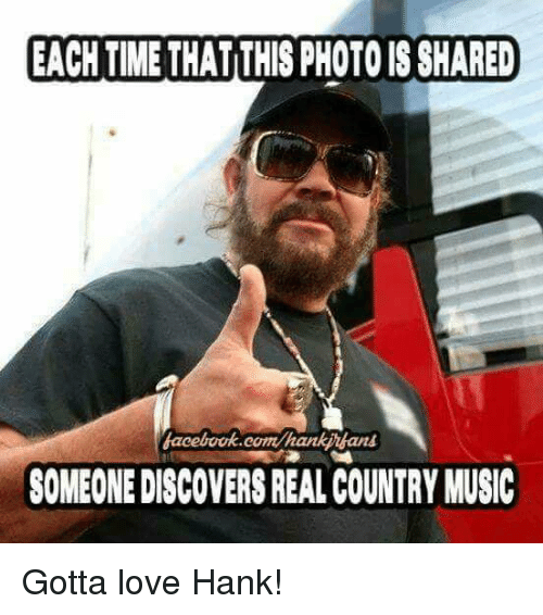 Best Memes About Real Country Music