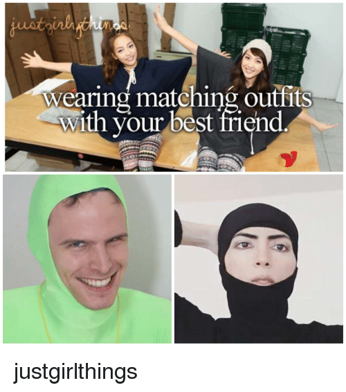Matching Outfits With Your Best Friend