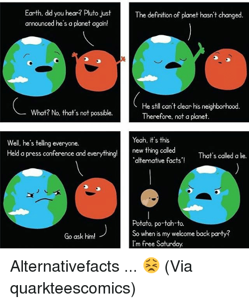 25+ Best Memes About Alternative Facts | Alternative Facts ...