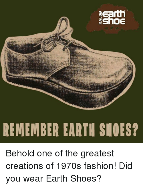 Earth shoes 1970s