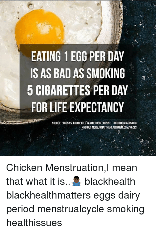 Bad Facts And Life Eating 1 Egg Per Day Is As Bad As