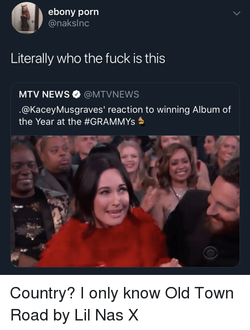 Ebony Porn Literally Who the Fuck Is This MTV NEWS Φ ...