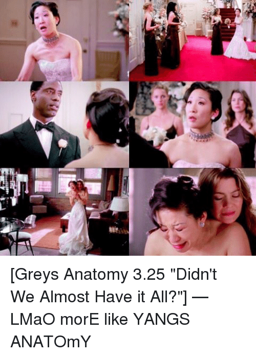 Ee Greys Anatomy 325 Didn\'t We Almost Have It All? — LMaO morE Like ...