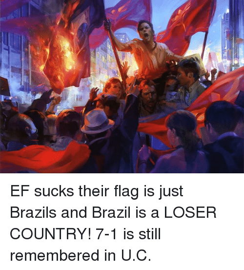 Why brazil sucks remarkable