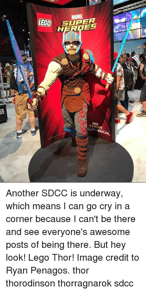 Eg0 Glper Thor Another Sdcc Is Underway Which Means I Can Go Cry In