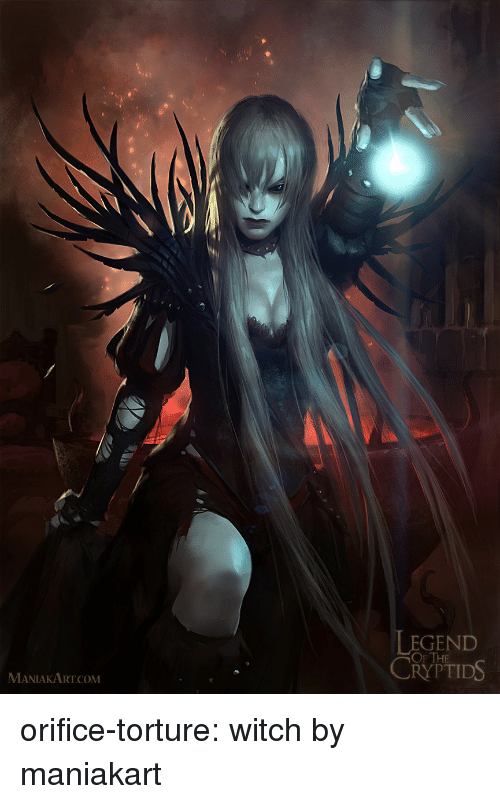 EGEND OF THE CRYPTIDS MANIAKARTCOM Orifice-Torture Witch by