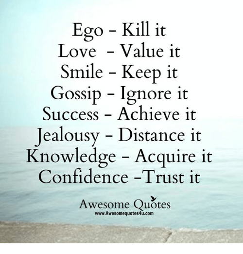 ego kills relationships quotes