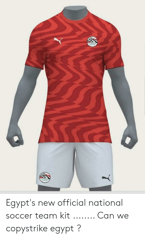 hot sale online 0cf3f e8ebb Egypt's New Official National Soccer Team Kit Can We ...