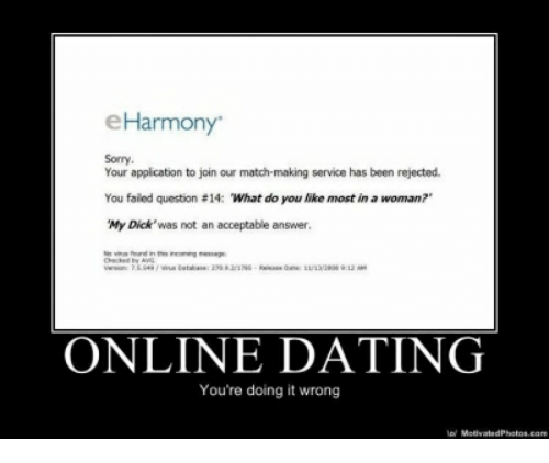 What to do when online dating is not working