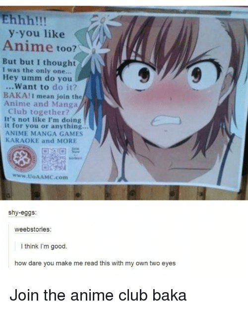 you like anime