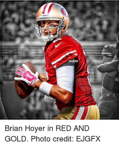 size 40 6a641 7e261 Brian Hoyer in RED AND GOLD Photo Credit EJGFX | Brian Hoyer ...