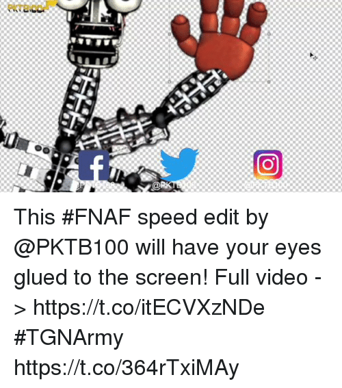 eKTEwO a This #FNAF Speed Edit by Will Have Your Eyes Glued