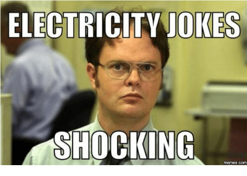 electricity jokes shocking memes com 16085384 electricity jokes shocking memes com electricity joke meme on me me
