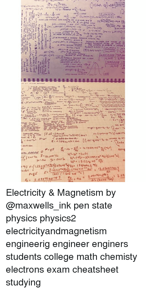 Electricity & Magnetism by Pen State Physics Physics2