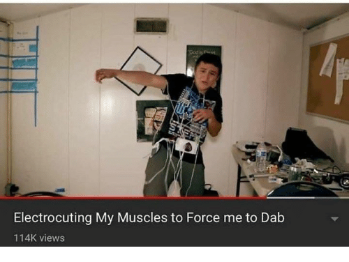 Dank, 🤖, and Dab: Electrocuting My Muscles to Force me to Dab  114K views