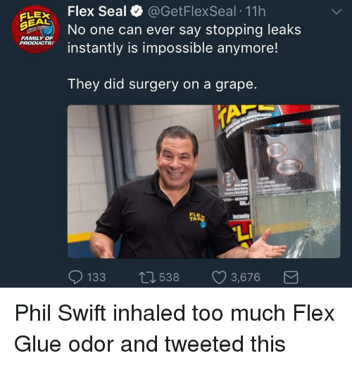Family Flexing And Too Much Elex Flex Seal Getflexseal 11h No One