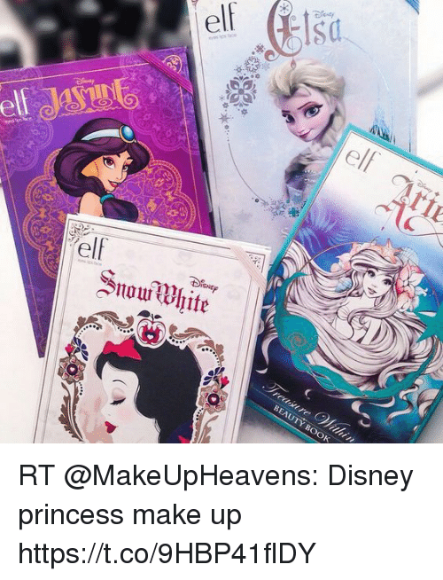 Disney, Elf, and Snow White: elf elf Snow White RT @MakeUpHeavens:
