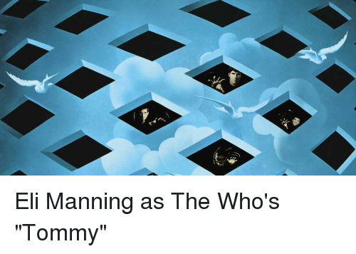Eli Manning, Nfl, and Tommy