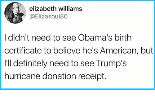 Elizabeth Williams I Didn\'t Need to See Obama\'s Birth Certificate to ...