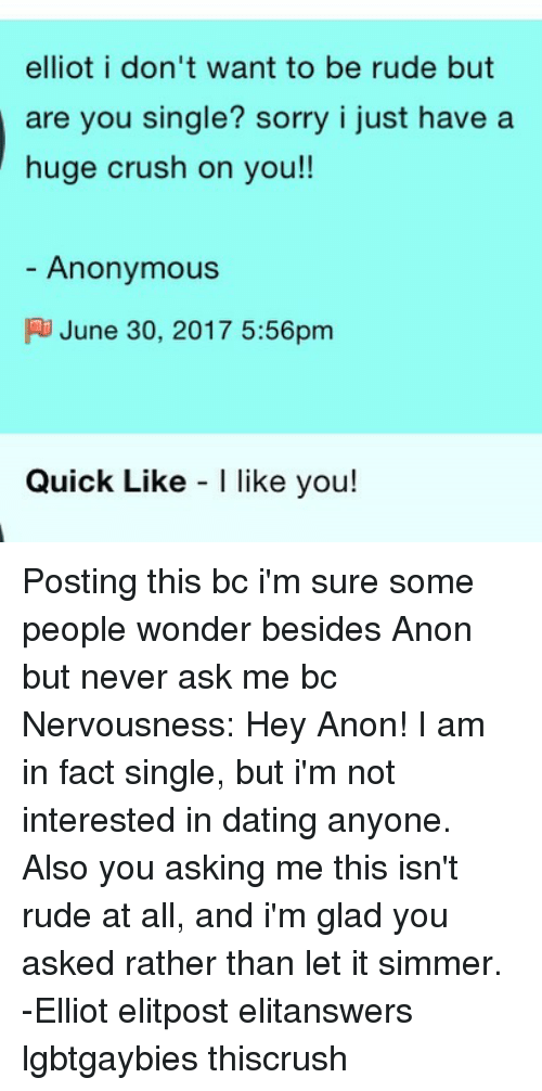 Single and not interested in dating text