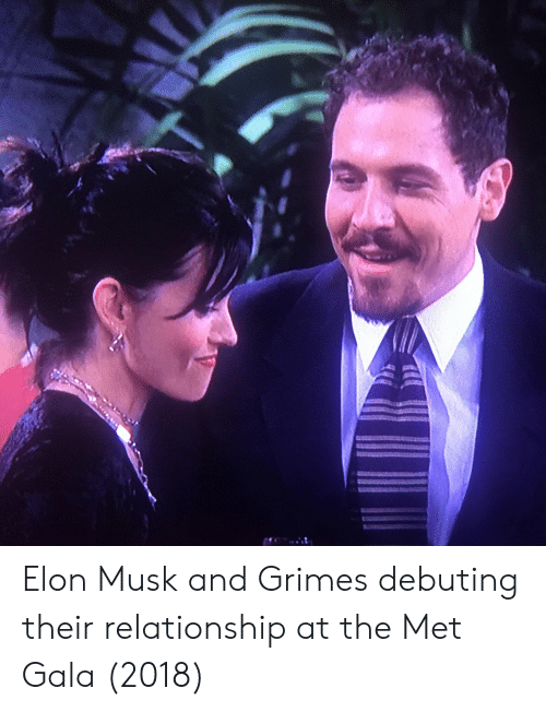 Elon Musk and Grimes Debuting Their Relationship at the Met