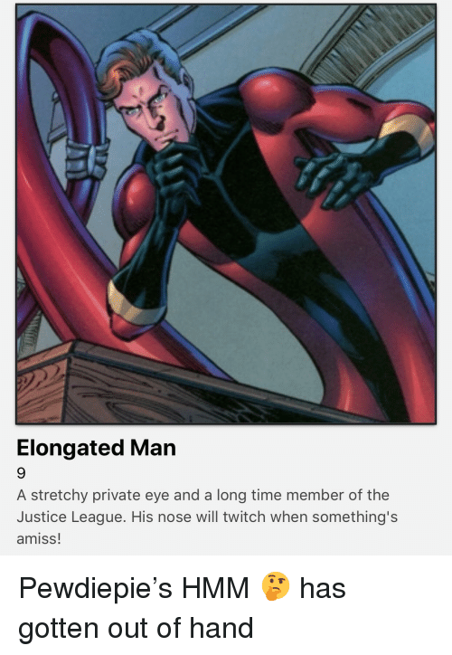 Elongated Man A Stretchy Private Eye And A Long Time Member Of The