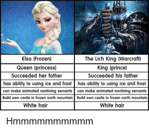 Elsa Frozen Queen Princess Succeeded Her Father The Lich King