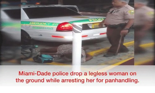 Memes And Miami EMERGENCY 3054 POUCE Dade Police Drop A