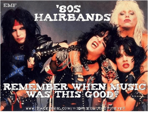 ✅ 16  Best Memes About Hair Bands | Hair Bands Memes