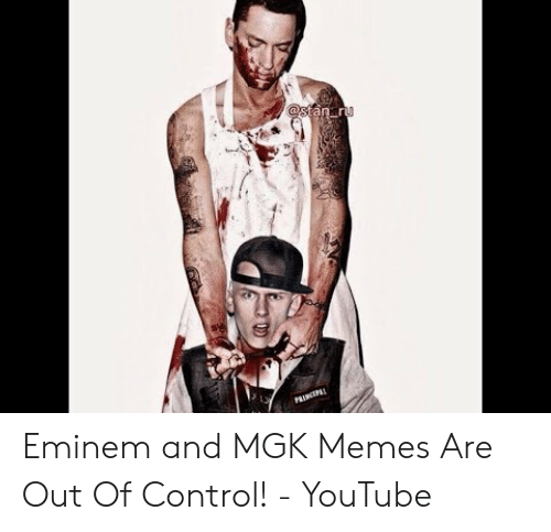 Eminem and MGK Memes Are Out of Control! - YouTube | Eminem
