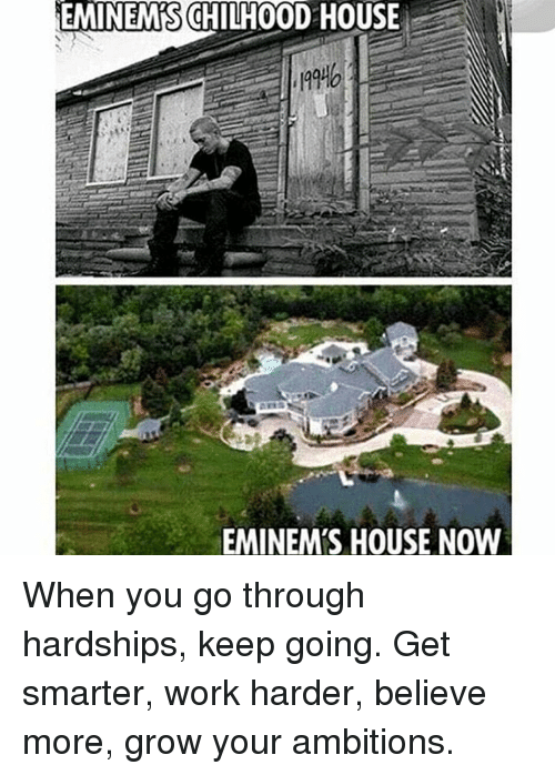 Eminemschilh00d House Nd Eminems House Now When You Go Through