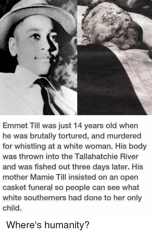 Emmet Till Was Just 14 Years Old When He Was Brutally