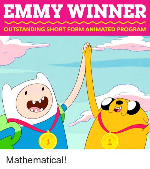 Dank, Animated, and 🤖: EMMY WINNER  OUTSTANDING SHORT FORM ANIMATED PROGRAM  ROG Mathematical!