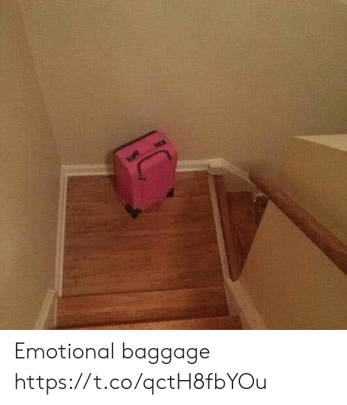 Faces-In-Things, Baggage, and Emotional: Emotional baggage https://t.co/qctH8fbYOu
