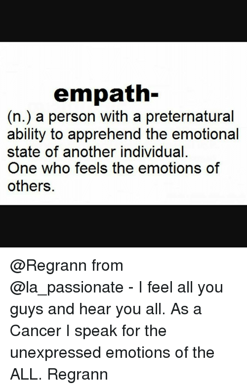 what is an empathic personality