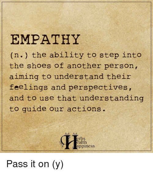 from actions to empathy and morality If empathy is crucial to developing a moral identity, then this trend should   actions as they related to ecosystems and the environment in a way.