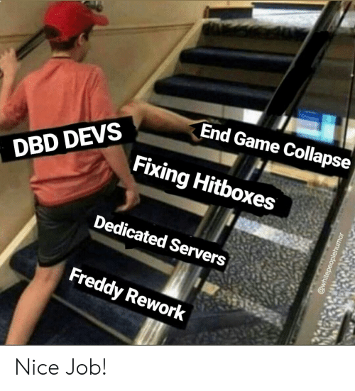 End Game Collapse Fixing Hitboxes DBD DEVS Dedicated Servers